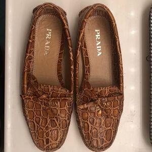 Prada size 35 loafers